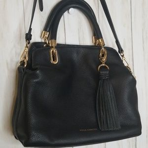 Vince Camuto Elva Leather Satchel